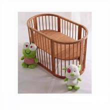 Co-sleeper Bamboo Baby Bed Attaches to Furniture Parents Bed Baby Crib