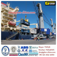 Liebheri Mobile Harbor Luffing Crane LHM550 Folding boom hydraulic Ship Crane floating crane