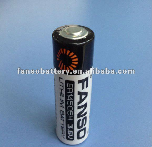 FANSO 3.6V Lithium AA Size Battery ER14505H 2700mAh LS14500 TL5903 ideal for Meter