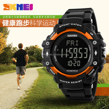 Multifunctional Sport Watch Digital Wrist Watch Skmei DG1180 Pedometer Heart Rate Monitor Chronograph Watches