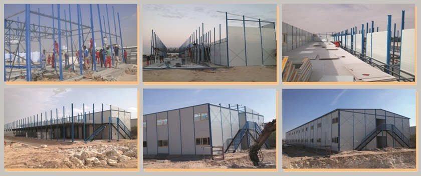 Camp house for Qatar