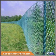 emerald green chain link fence weave