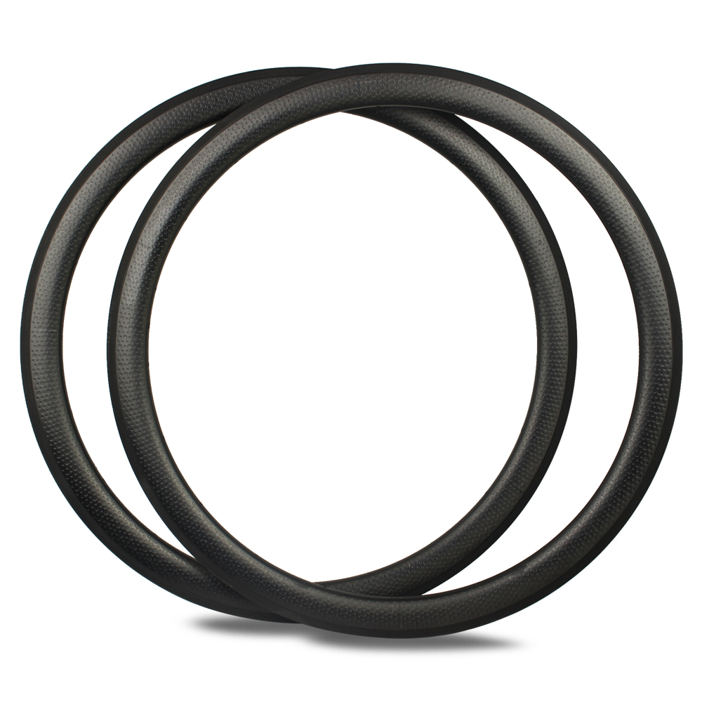 Yuan An 700C carbon bike dimple rims 45mm bicycle tubular road wheels 25mm wide