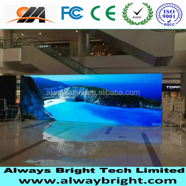 ABT HD image led display P3 indoor LED screen for flow shows