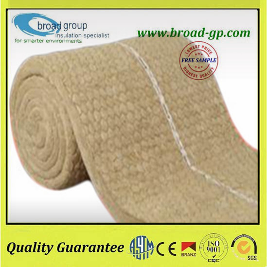 Fireproof rock wool mineral wool insulation blanket price for Mineral fiber insulation r value