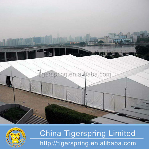 Strong Aluminum Large Industrial Tent Trade Show Tent Huge Room