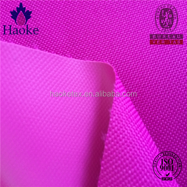 wholesale high quality pvc coated 600 denier polyester fabric, 600d polyester fabric
