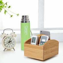 fancy bamboo storage box with hot wheel of home and office
