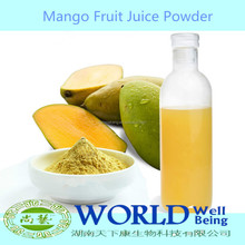 Factory 100% Natural Organic Fruit Drink Powde Mango Powder Mango Juice Cncentrate Mango Juice Powder