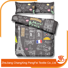 Chinese traditional pattern comforter sets fabric material for sale