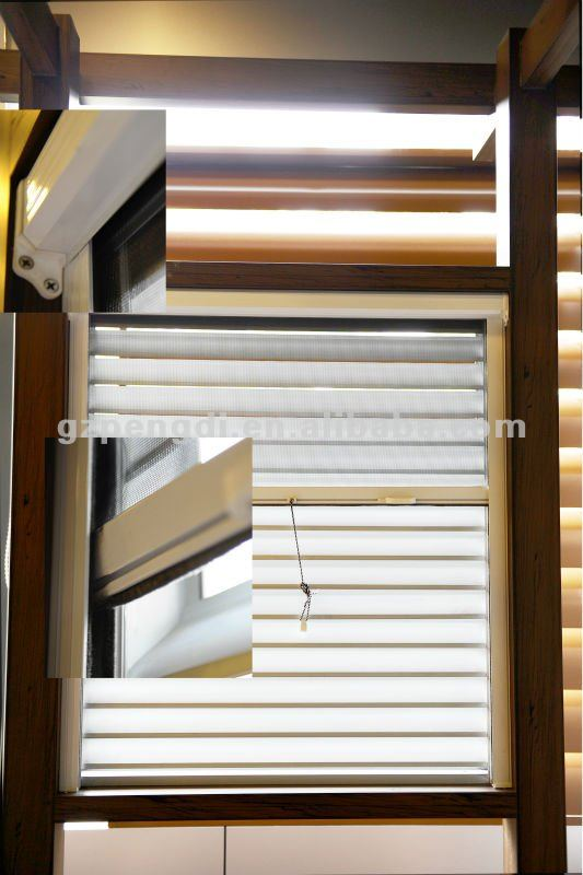 Aluminum Fixed Shutter with Sliding Fly Screen/Exterior Shutters/Good Quality