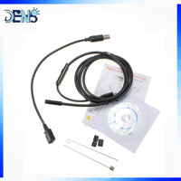 5.5mm Waterproof Micro USB Endoscope Snake Tube Inspection Camera with 6 LED for Parts of OTG Android Mobile Phone Car