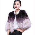 CX-G-A-01E High Quality New Product Real Raccoon Fur Coat Girl