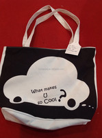 Eco-friendly Canvas Handle Shopping Tote Bag