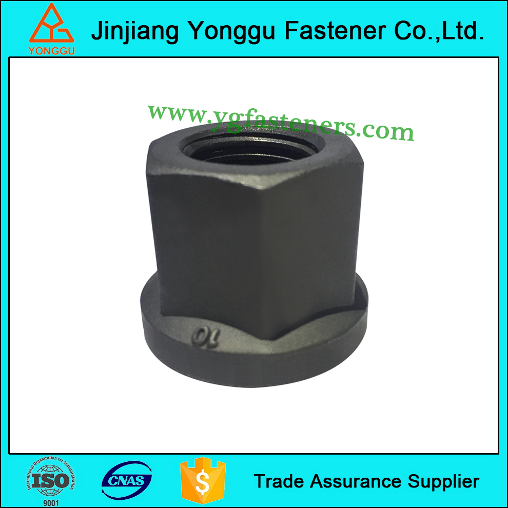 Europ market forged steel MAN truck flange nut