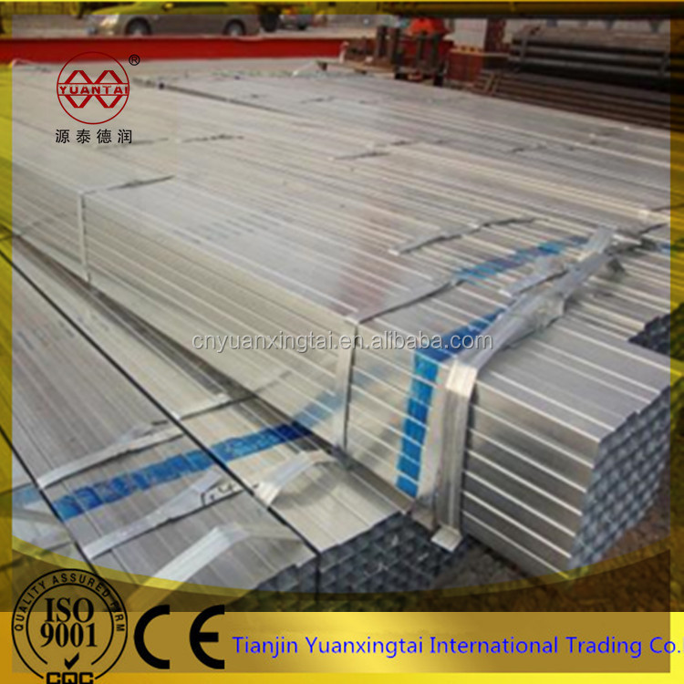Factory price Square steel tubes, square tube steel/ square hollow section