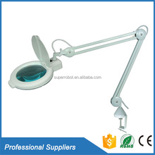 Custom magnifying glass specification 80LED 7 inch large medical surgical loupe lighted magnifying glasses