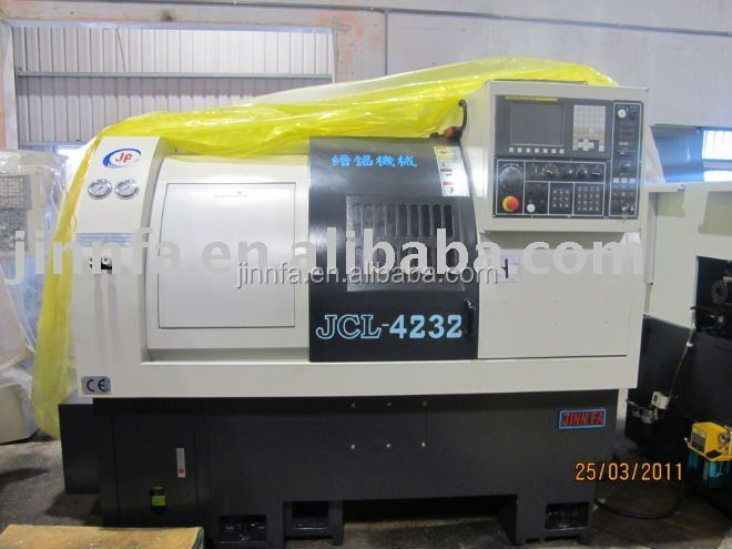JCL 4232 dia 42 Turret cnc lathe machine