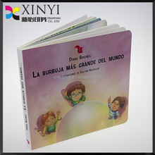 Printing baby board books custom moral story book supplier