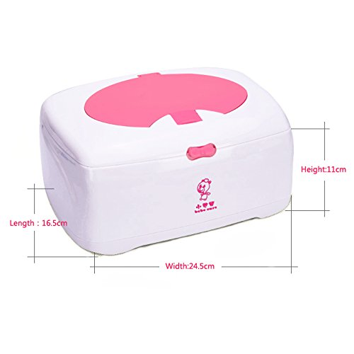 Baiyea Wipe Warmer for Baby Wet Care Wipes Dispenser and Great Mother's Day Gift