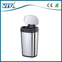 30L 40L 50L High Quality Touchless Bin Stainless Steel Food Waste Garbage Disposer