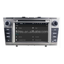 for toyota avensis 2 din car dvd with gps multimedia radio android player auto central double stereo audio touch screen