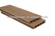 Durable Water Proof Outdoor Wood Plastic Composite Deck/WPC Floor Passed CE