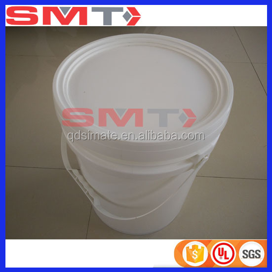 wholesale 5 gallon white plastic buckets with lid