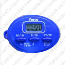 super high brightness 6 digits lcd mini digital clock for car