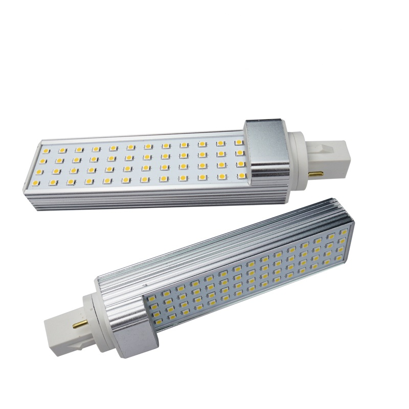 12W G24q PL-C Horizontal Recessed Light 26W CFL Lamp Equivalent Gx24 4-Pin Base LED <strong>Bulb</strong>