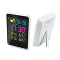 Factory LCD Digital Table Alarm Clock with Temperature and backlight For Kids And The Elderly