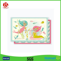 Soft Material polyethylene disposable Kids Plastic place mat