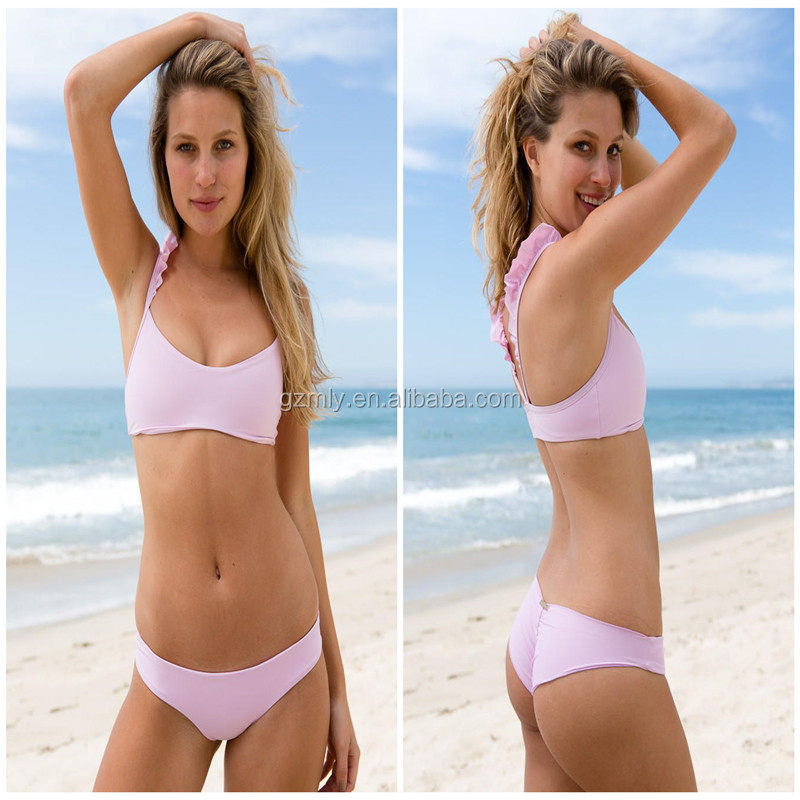 Factory Wholesale unlined bikini open women photos women swimwear