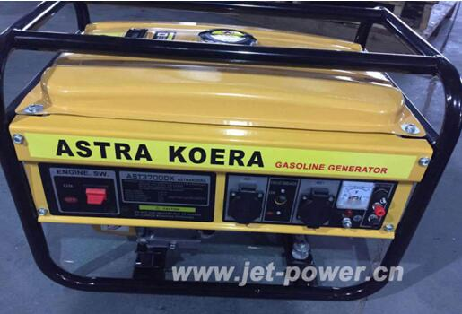 2kw ast 3700 gasoline generator single phase with cheap price from china