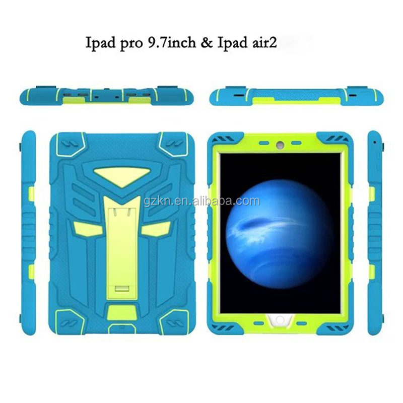 Cool autobot defender tablet case for iPad Air iPad Pro 9.7inch drop resistant smart cover