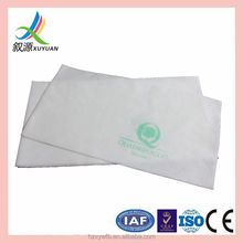 Logo Printed Nonwoven spunlace disposable 100%viscose personalized hair towels hair dressing towels