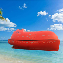 SOLAS Approved FRP Totally Enclosed Fast Used Rescue Boat for Sale