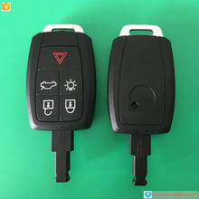 Usa market car keys for Volvo 5 Button Remote key Shell