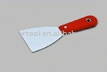 glass scratch & putty knife with plastic handle & high quality