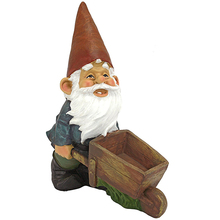 Custom Resin Garden Gnome Elf Figurine, Resin Small Gnome Figurine