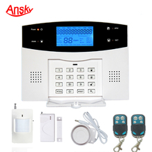 Ansky GSM Home Burglar Security Alarm System support remote control