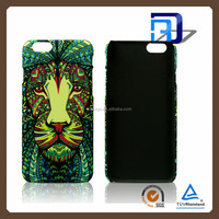 Luminous Forest King Phone Case For iPhone 5 5S Animal Mobile Accessories Hard Plastic Luminous PC Back Phone Case