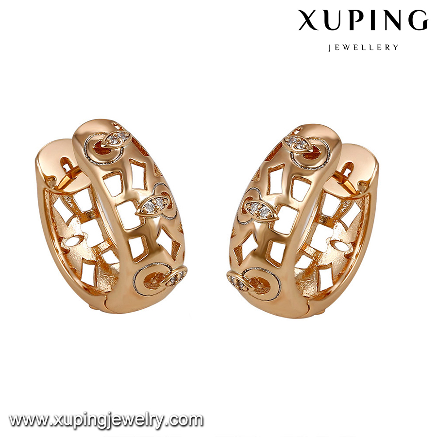 93027-handmade jewelry fashion trends gold bridal earrings