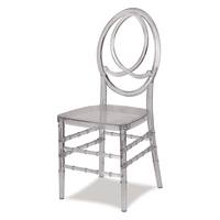 Top Furniture Clear Resin phoenix wedding tiffany chair