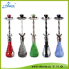 Hot sell factory in China borosilicate colored clear crystal art hookah