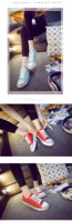 HC-LH8713 Popular vulcanized rubber canvas shoes for ladies / vulcanized canvas shoes for female