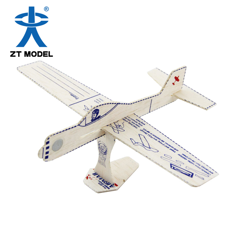 Chinese new year gifts air tore plane balsa aircraft model