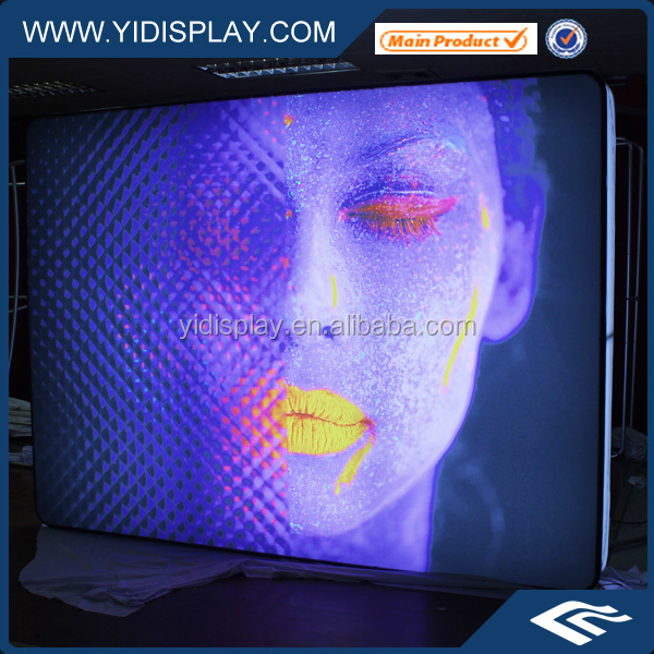 YIDISPLAY Protable <strong>advertising</strong> textile light box hot sale single side fabric light box