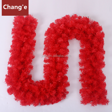 red garland 30cm wide big christmas foil garlands
