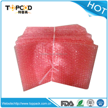 A low cost pink anti static bubble bag for packing electrical products